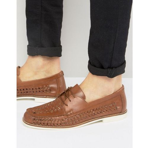KG By Kurt Geiger Woven Shoes In Tan Leather - Tan