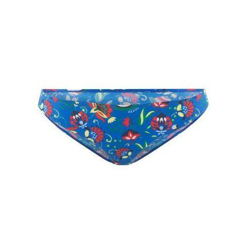 Bonprix Figi bikini niebieski z nadrukiem