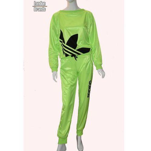 Dres  limonkowy marki Adidas