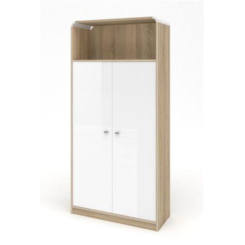 Hubertus design Szafa milano dąb sonoma