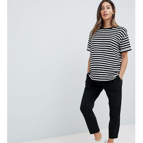 Asos design maternity over the bump basic jersey smart skinny trousers - black marki Asos maternity