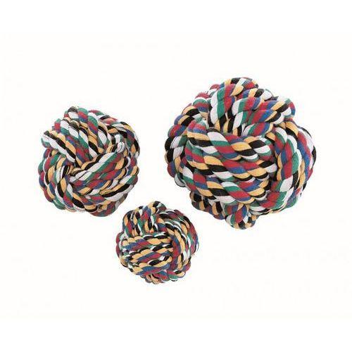 Nobby Piłka ze sznurka bawełniana średnia 7.5cm nr kat.79325