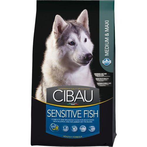 cibau adult medium/maxi sensitive fish 12kg+2kg gratis marki Farmina