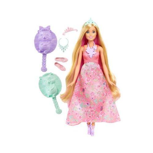 Barbie Dreamtopia - Księżniczka - farbowanie włosów, blond