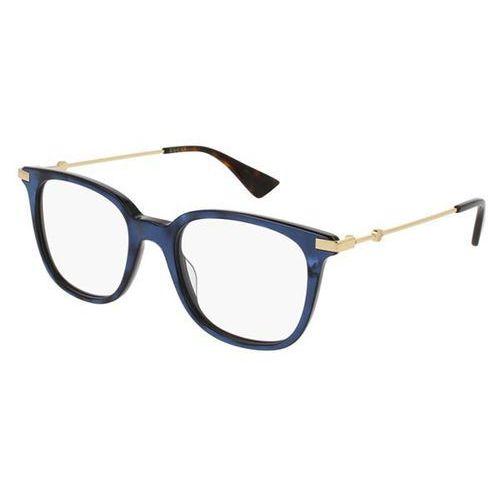 Gucci Okulary korekcyjne gg0110o 005