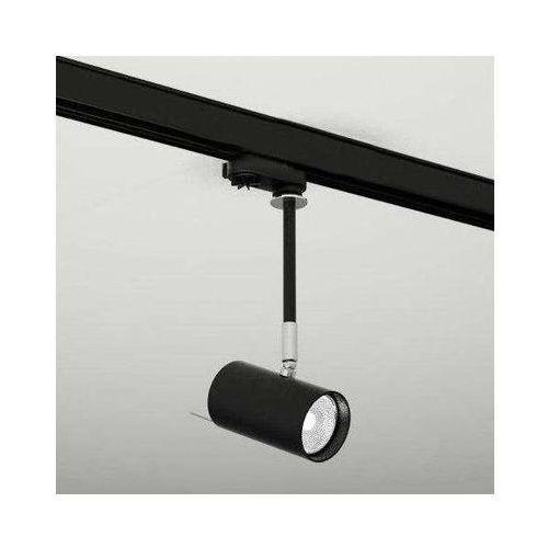 Reflektorowa lampa sufitowa fussa 6602/gu10/cz metalowa oprawa do systemu szynowego 3-fazowego czarny marki Shilo