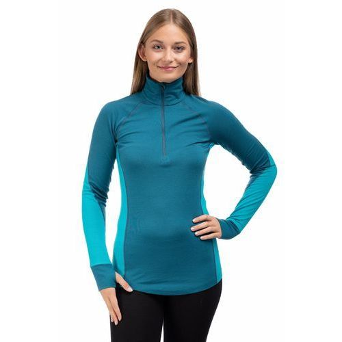 Koszulka 260 winter zone ls half zip women marki Icebreaker