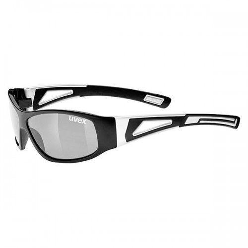 Uvex okulary dziecięce sportstyle 509 (s3) black (czarny) z szybą litemirror silver