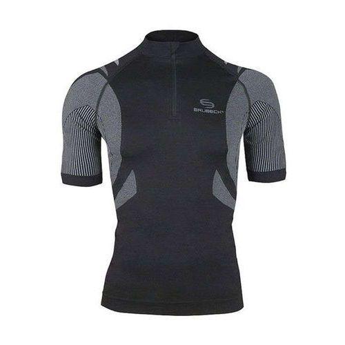 ss10410 - koszulka rowerowa unisex (czarny) marki Brubeck