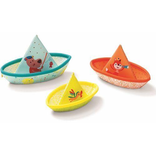 Zabawki do wody Lilliputiens - Łódki z neoprenu L86772 (5414834867725)