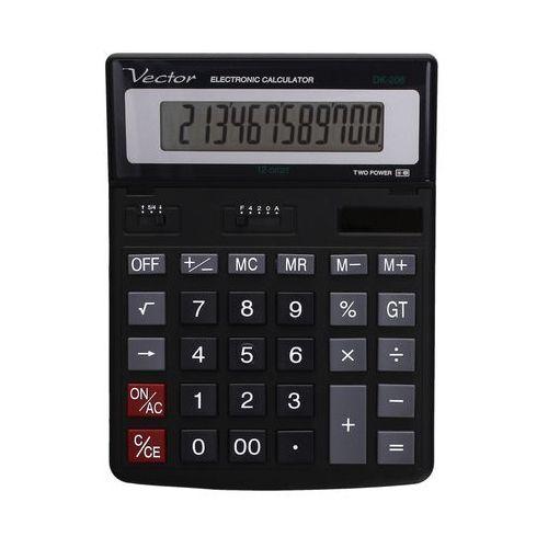Kalkulator 12pozycyjny dk206 marki Vector. Najniższe ceny, najlepsze promocje w sklepach, opinie.