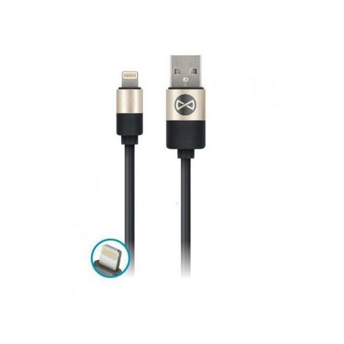 Telforceone Kabel forever usb do iphone 8-pin modern czarny (5900495621412)