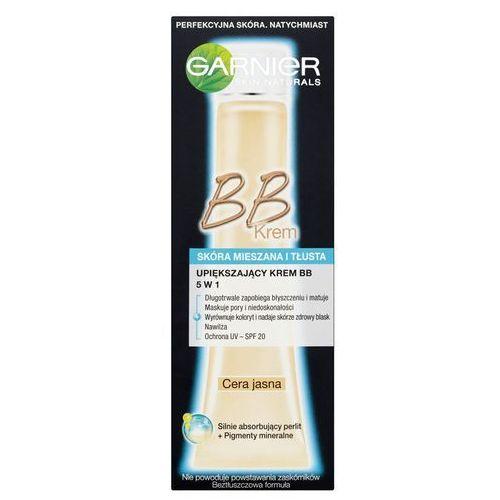 Garnier - Upiększajacy krem BB 5w1, skóra mieszkana i tłusta, cera jasna 40 ml