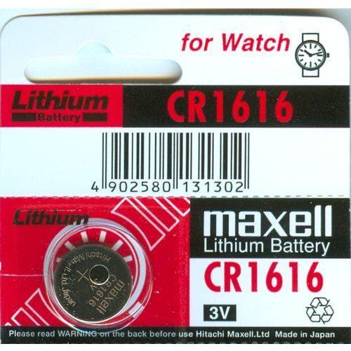 Panasonic Cr1616 maxell 3.0v