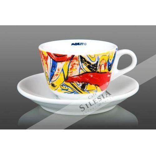 Filiżanka cappuccino fantasia 140ml marki Mokito