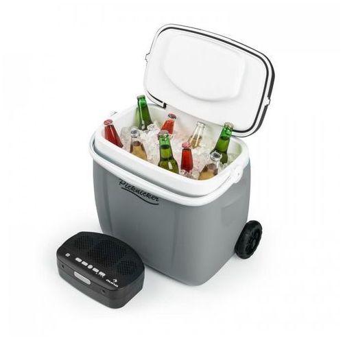 Picknicker Trolley Music Cooler Przenośna chłodziarka na kółkach 36l głośni