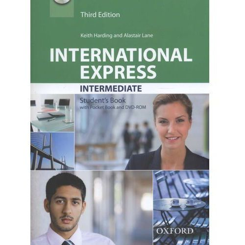 International Express Intermediate 3rd Edition. Podręcznik + DVD, oprawa miękka