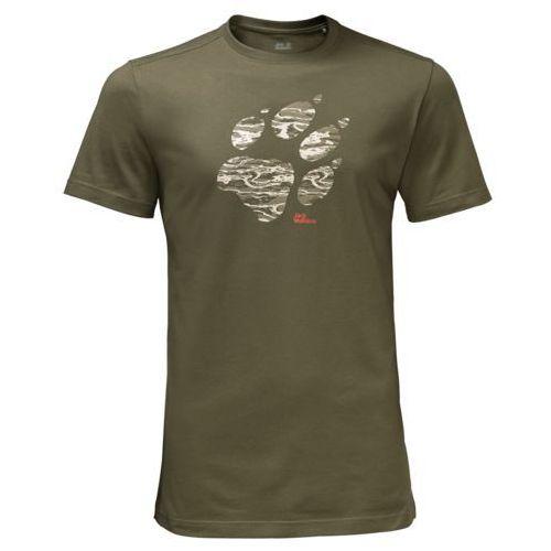 Koszulka laguna paw t men - burnt olive marki Jack wolfskin