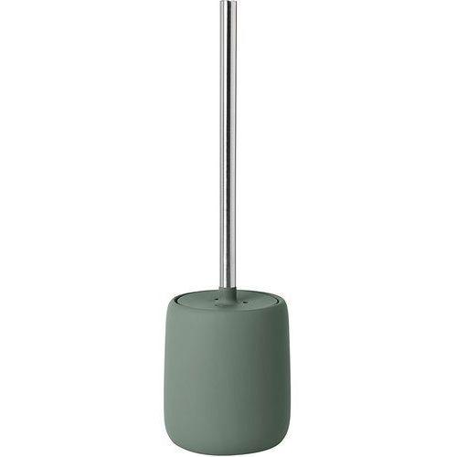 Szczotka do wc sono - agave green ceramika + stal nierdzewna połysk marki Blomus