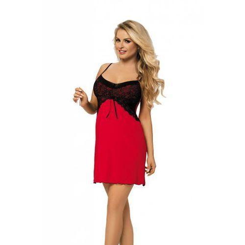 Dkaren Tatiana czerwona Koszula nocna (5903068512995)