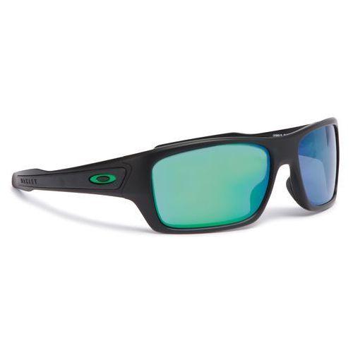 3497b8038f Okulary przeciwsłoneczne OAKLEY - Turbine OO9263-15 Matte Black Jade  Iridium
