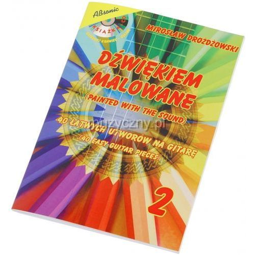 AN Drożdżowski Mirosław ″Dźwiękiem malowane 2″ książka + CD