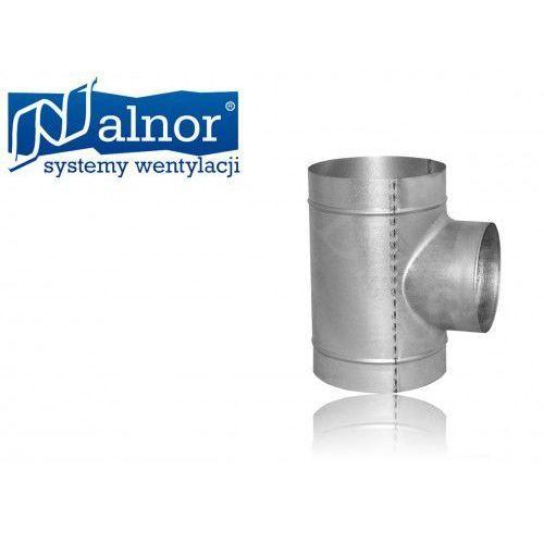 Trójnik wentylacyjny SPIRO redukcyjny 90° 100x80mm (TPC-100-080)