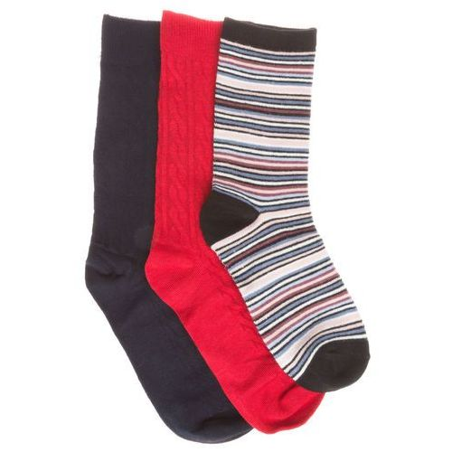 Pepe jeans  candice set of 3 pairs of socks niebieski czerwony 37-41