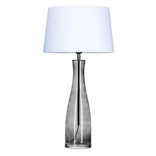 Lampa stołowa amsterdam anthracit z białym kloszem, l211174228 marki 4 concepts