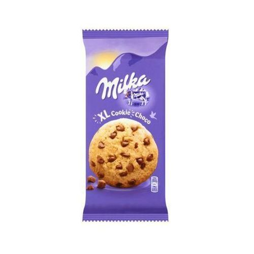 Milka 184g xl cookies choco ciastka z dużymi kawałkami czekolady mlecznej