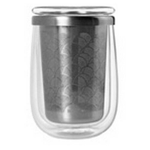 Adhoc Szklanka z filtrem fusion glass do zaparzania herbaty (4037571389452)