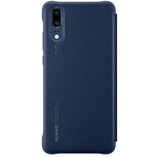 HUAWEI Etui do Huawei Mate 20 Lite z klapką niebieskie 51992654, kolor niebieski
