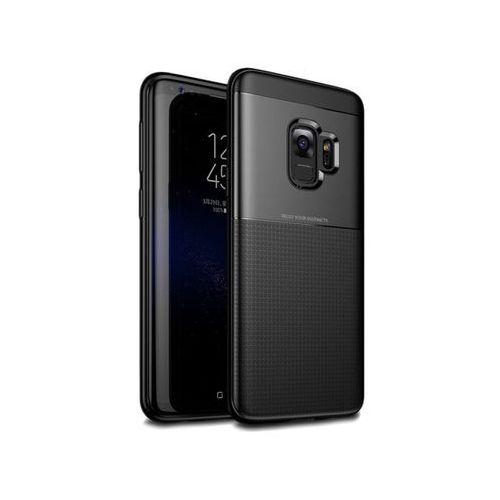 Etui Alogy Toraise Samsung Galaxy S9 czarne + Szkło - Czarny