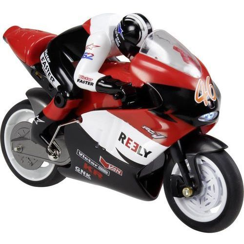 Motocykl rc dla początkujących  motorbike, 1:10, elektryczny, 140 mm, rtr marki Reely