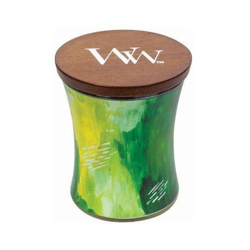 Świeca artisan klepsydra lime bergamot marki Woodwick