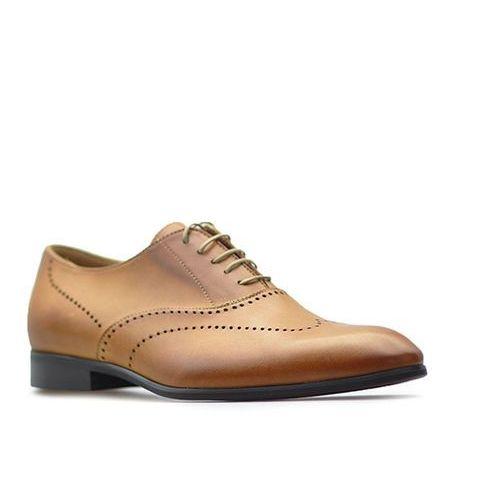 Pantofle Duo Men 1742 Jasny Brązowe