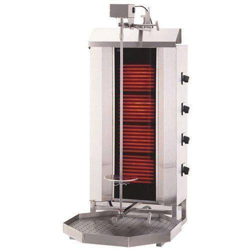Gyros   opiekacz elektryczny do kebaba   4 palniki   wsad 60kg KLG 231