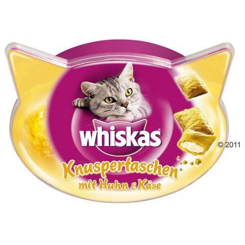 Whiskas temptations, kurczak z serem - 3 x 60 g (5998749108550)