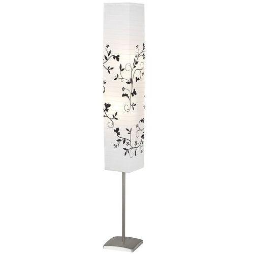 Brilliant Nerva Lampa Stojąca Siwy, Biały, 2-punktowe - Nowoczesny - Obszar wewnętrzny - Nerva - Czas dostawy: od 6-10 dni roboczych