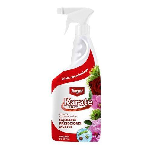Spray karate na gąsiennice mszyce czerwce 750 ml marki Target