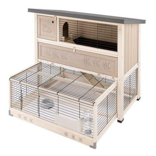 ranch 120 max klatka dla świnki, królika z wyposażeniem marki Ferplast
