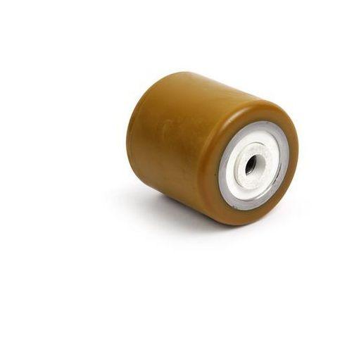 Rolka widłowa, poliuretan, dł. mocowania 88,5 mm. Z poliuretanu, z metalowym rdz