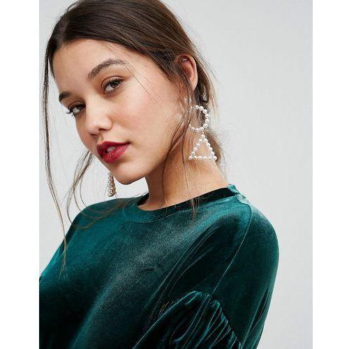 statement pearl earrings - white marki Aldo