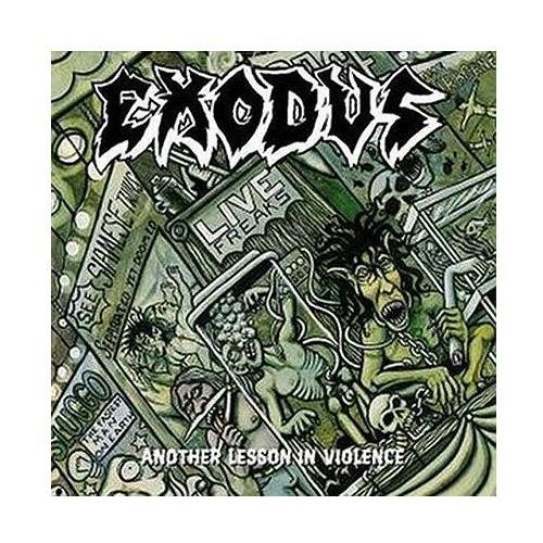 Universal music / century media Another lesson in violence - exodus (5051099748224)