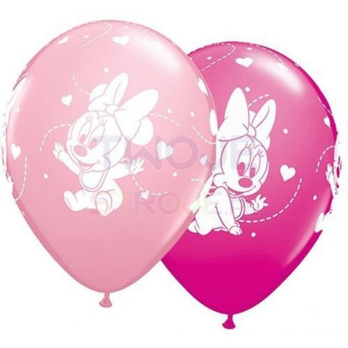 Balon baby minnie mix 27cm 1szt marki Twojestroje.pl