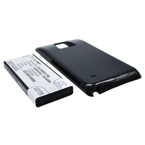 Samsung galaxy note 4 / eb-bn910bbe 6400mah 24.64wh li-ion 3.85v powiększony czarny () marki Cameron sino