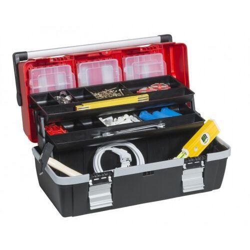 Allit Plastikowa walizka z wysuwanymi półkami mcplus alu c 22 (4005187570212)
