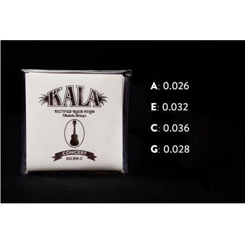 Kala rectified black nylon, concert struny do ukulele