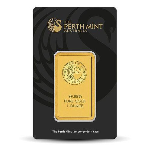 Pamp, perth mint, argor-heraeus 1 uncja sztabka złota certicard - 15dni