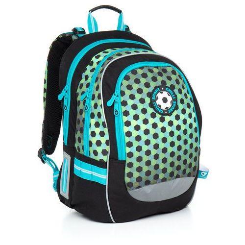 Plecak szkolny Topgal CHI 800 E - Green, kolor zielony